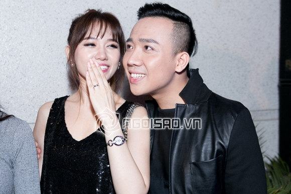 Nho cuoi nhau Tran Thanh - Hari Won da hop thuc hoa chuyen than mat truoc dam dong