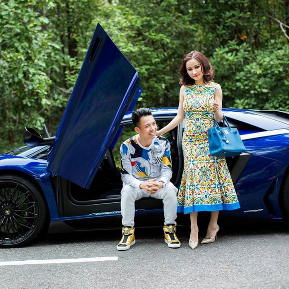 Tiger Remix, Minh Nhựa, Lamborghini Aventador LP700-4