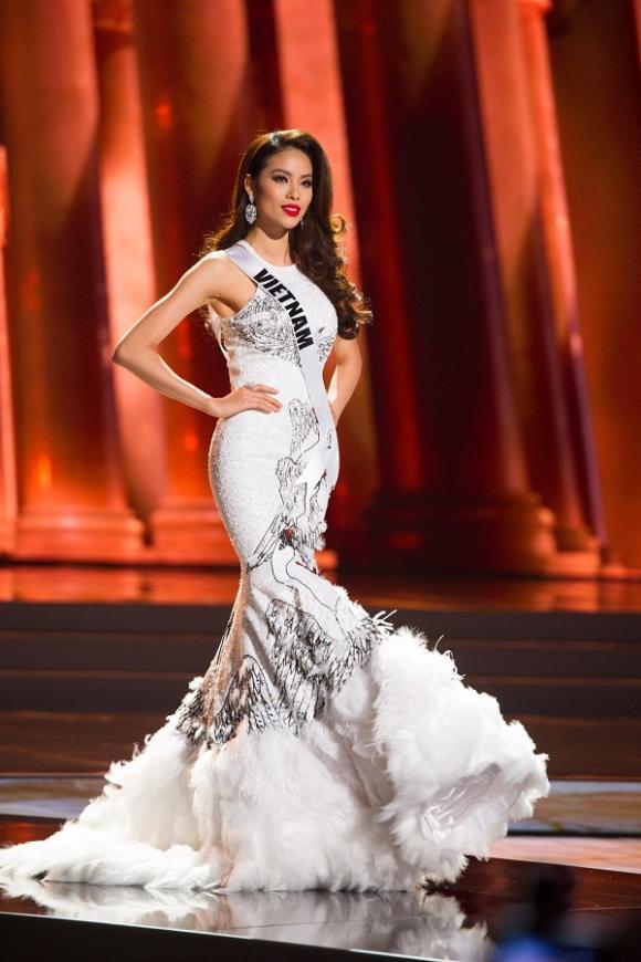 phạm hương,  Hoa hậu Hoàn vũ Việt Nam 2017, hoa hậu việt