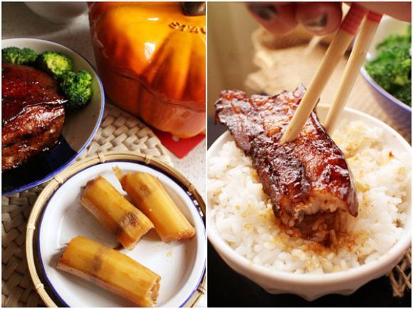 Ăn gì ngày lạnh? Các mẹ cùng em làm món thịt ba chỉ kho mía vừa ngon vừa tốt cho sức khỏe nhé!! - www.TAICHINH2A.COM