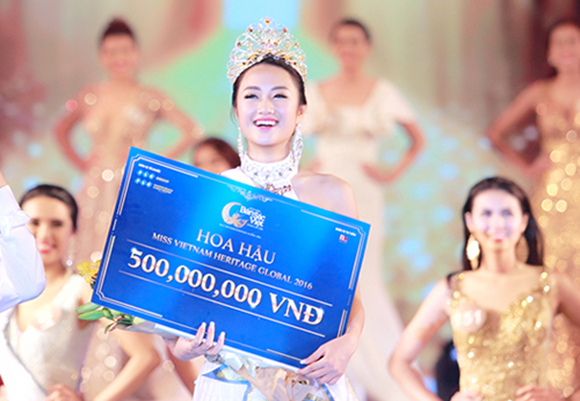 Hoa hậu Thu Ngân lấy chồng đại gia 0