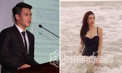 Tin sao Việt mới 8/1: Công Vinh viết tâm thư gửi người TP HCM, Hoa hậu Thu Hoài gợi cảm trên biển