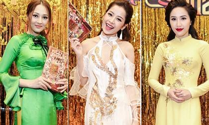Dàn mỹ nhân Việt rạng rỡ với áo dài đón xuân