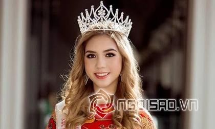 Anna Mỹ Linh - Bông hồng lai 18 tuổi giành ngôi Á hậu người Việt quốc tế