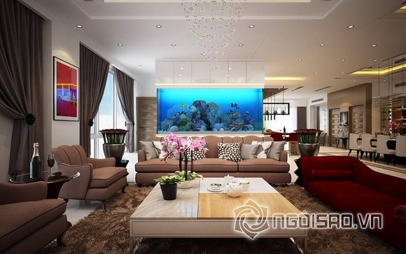 Hoa hậu Thu Hoài khoe nhà mới 7