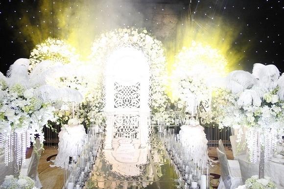sao việt, hoa hậu thu ngân, hoa hậu bản sắc việt 2010, đám cưới thu ngân, đám cưới hoa hậu thu ngân