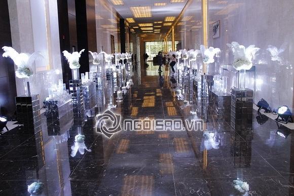 Đám cưới Hoa hậu Thu Ngân: Tiệc cưới trong không gian sang trọng JW Marriott