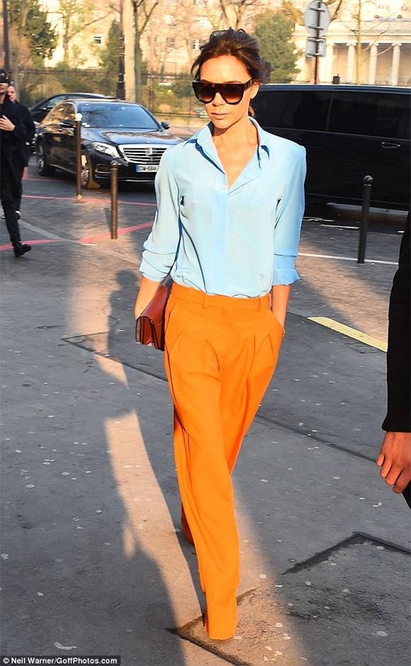 Victoria Beckham, Victoria Beckham mặc đẹp, sao hollywood, bé Harper