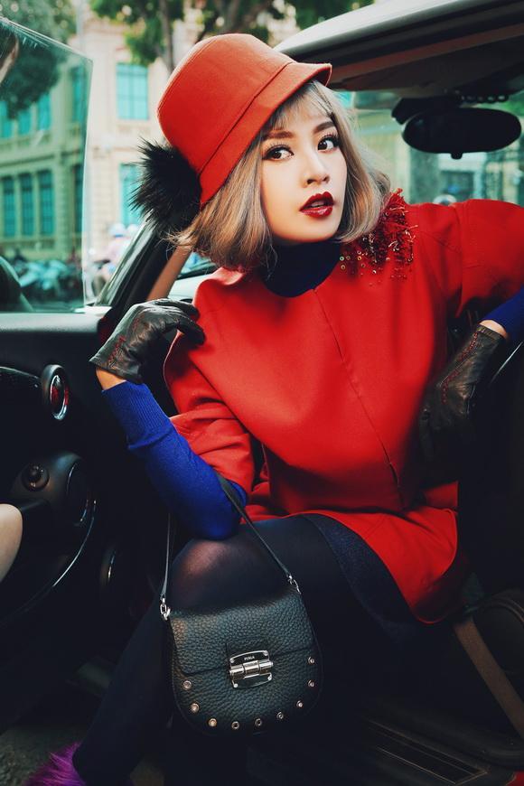 Hotgirl chi pu,diễn viên chi pu,chi pu sang chảnh