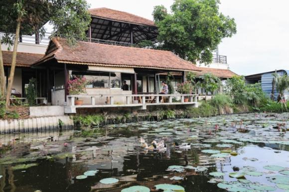 Ngắm nhà vườn 7000 m2 ngập tràn sắc xuân của ca sĩ Ánh Tuyết