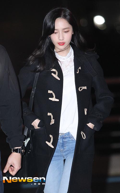 Yoona (SNSD), Yoona (SNSD) sang Việt Nam, Yoona (SNSD) đẹp giản dị tại sân bay