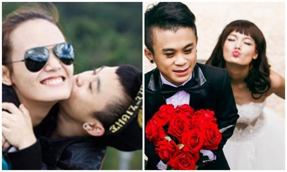 chàng lùn Xuân Tiến, chàng lùn Xuân Tiến và bạn gái, người mẫu Thanh Thảo và Xuân Tiến