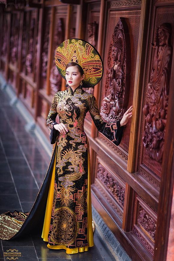 Áo dài, Áo dài Việt, Trương Tịnh Wedding