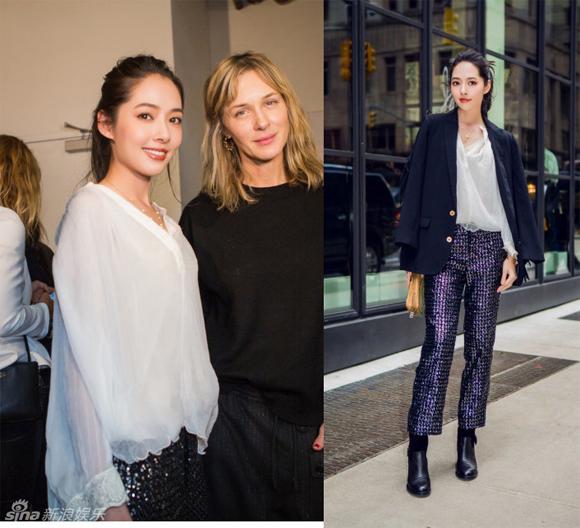 Lý Băng Băng, Cổ Lực Na Trát, Quách Bích Đình, tuần lễ thời trang New York