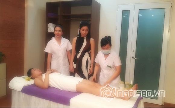 Á hậu Thanh Hải, Á hậu Trần Thị Thanh Hải, Thanh Hải Spa, sản phẩm tắm trắng Ultra Body Whitening 21Days