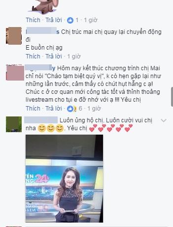 MC Trúc Mai, MC Trúc Mai nghỉ việc tại VTV24, MC