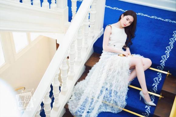 ,diễn viên Lưu Diệc Phi,thần tiên tỷ tỷ Lưu Diệc Phi, sao Hoa ngữ, Tuần lễ thời trang 2017 của Dior