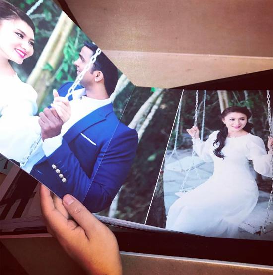 sao Việt,Nguyệt Ánh,diễn viên Cổng mặt trời,ảnh cưới sao Việt,đám cưới sao Việt