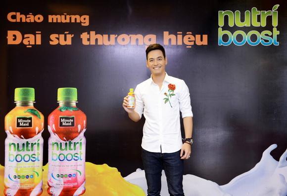 Phan Anh, Đại sứ thương hiệu Nutriboost, Nutriboost