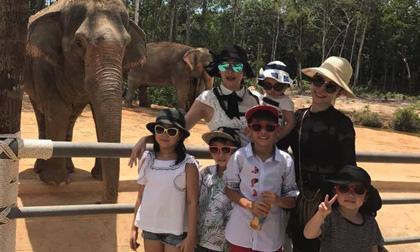 Hà Kiều Anh, Hà Kiều Anh và con, mẹ con Hà Kiều Anh, Hoa hậu Hà Kiều Anh