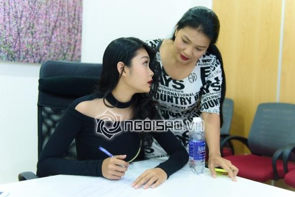 con gái Kiều trinh, diễn viên kiều trinh, the face, sao việt