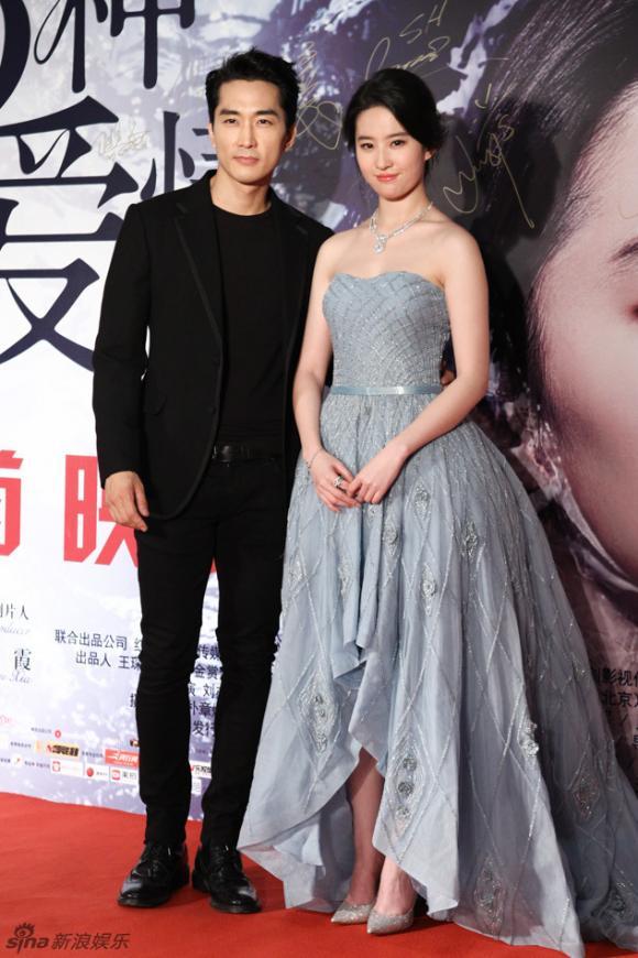 Lưu Diệc Phi,Song Seung Hun,diễn viên Song Seung Hun,diễn viên Lưu Diệc Phi,Lưu Diệc Phi và Song Seung Heon, sao Hoa ngữ