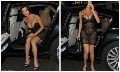 sao hollywood, người mẫu, người mẫu anh, Demi Rose, bạn gái của rapper gốc việt