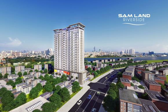 Ngày Hội Vàng Đầu tư, Samland Riverside, Công ty cổ phần địa ốc Sacom
