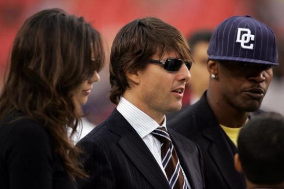 sao Hollywood,vợ cũ Tom Cruise,Katie Holmes,Jamie Foxx