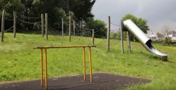 công viên, cầu trượt, cầu trượt nguy hiểm, nguy hiểm cho trẻ em