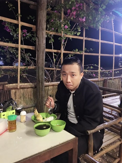 Cuoi nhau 4 thang, Tran Thanh va Hari Won 'gay choang' vi ngoai hinh doi lap