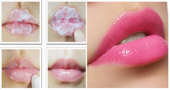 son môi, môi, môi hồng, môi hồng tự nhiên, dưỡng môi, son dưỡng môi tự chế