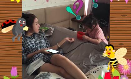 Phạm Hương, Mẹ Phạm Hương, Á hậu Lệ Hằng