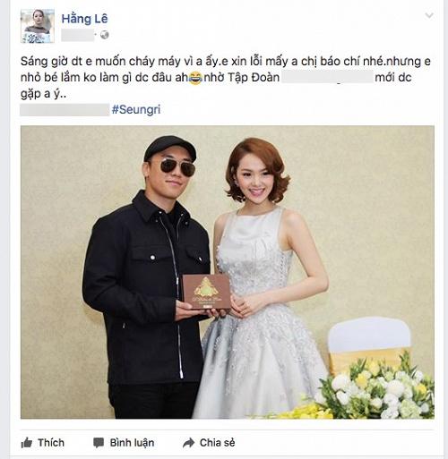 Lo dien dai gia chong lung cho Minh Hang khien Ha Ho 'phat cau'?