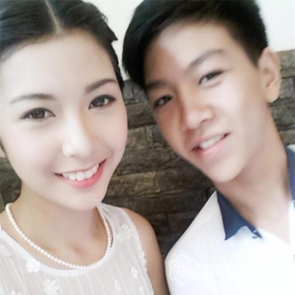 em trai của á hậu Thúy Vân, Á hậu Thúy Vân, em trai Thúy Vân