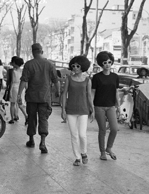thời trang xưa, sài gòn cũ, những quý cô sành điệu ngày xưa, thập niên 60 và 70