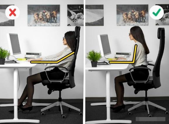 sức khỏe, dân văn phòng, bảo vệ sức khỏe của dân văn phòng, bảo vệ sức khỏe khi làm việc, tư thế ngồi đúng