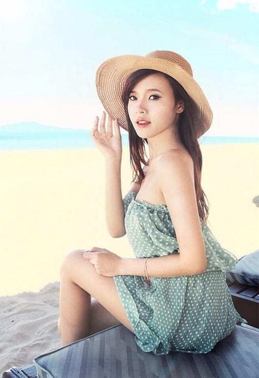 Midu, Midu ảnh bikini, ảnh bikini của Midu, hot girl Midu, thời trang Midu, sao Việt