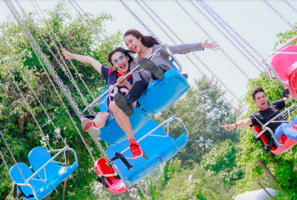 Trào lưu mới: Lễ này giới trẻ rủ nhau đến Vườn Xoài thay vì đi chơi xa
