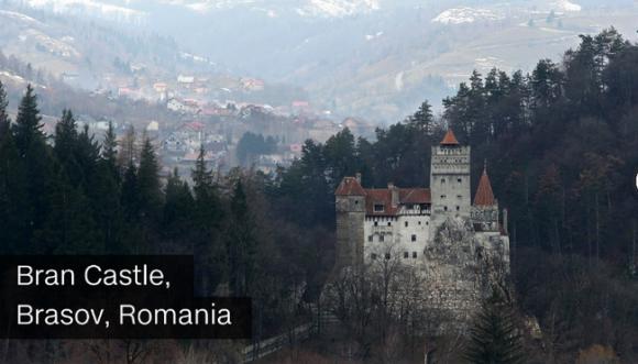 lâu đài Hogwarts, căn hộ của Sherlock Holmes hay lâu đài của Bá tước Dracula