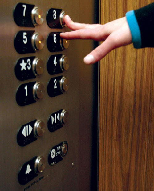 chọn vị trí đứng trong thang máy, trắc nghiệm, trắc nghiệm tâm lý, khả năng làm việc