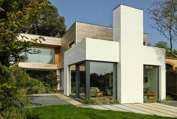 Mẫu nhà 2 tầng tuyệt đẹp trên khuôn đất rộng