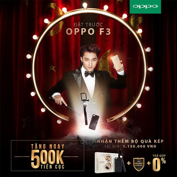 OPPO F3, điện thoại OPPO, OPPO khuyến mãi nhân ngày của Mẹ
