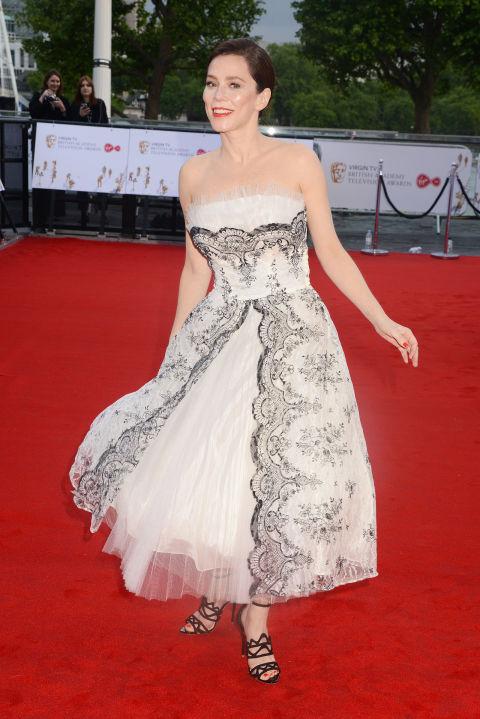 nam dien vien Tom Cruise, người tình tin đồn của Tom Cruise,thảm đỏ BAFTAs TV,BAFTA TV Awards 2017, Vanessa kirby