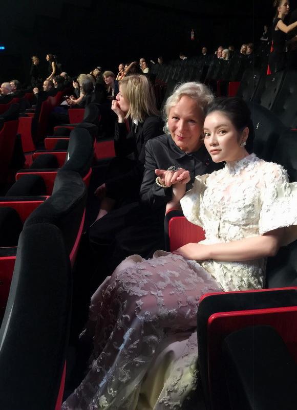 lý nhã kỳ, diễn viên lý nhã kỳ, cựu đại sứ du lịch, liên hoan phim cannes 2017, Lý Nhã Kỳ LHP Cannes 2017