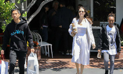 sao nhí Hollywood,Pax Thiên,Angelina Jolie,Brad Pitt