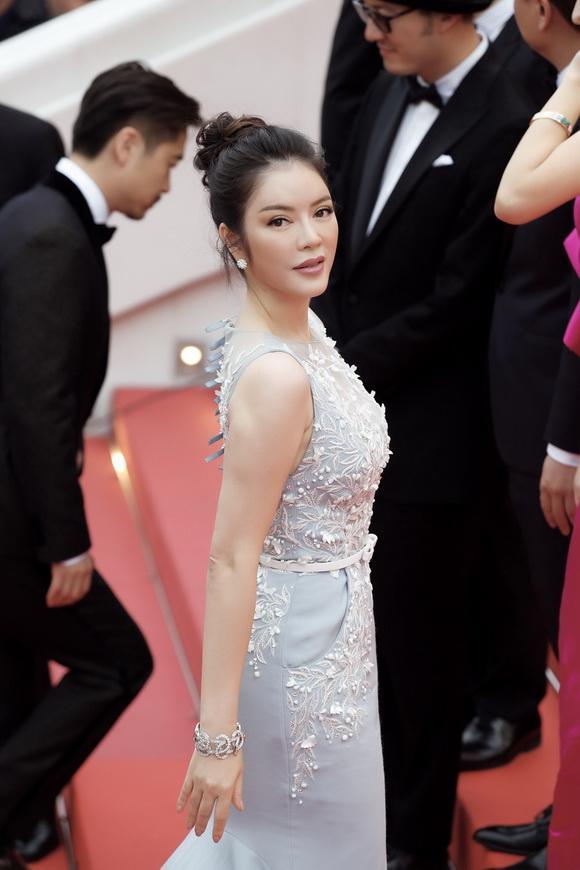 Diễn viên lý nhã kỳ,công chúa lý nhã kỳ,LHP Cannes 2017,sao việt