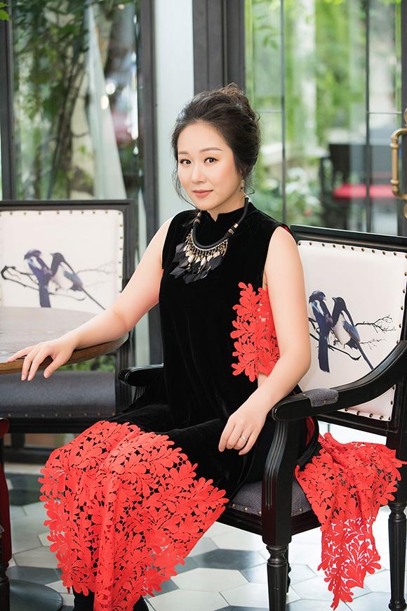 Đã lâu lắm rồi, Hoa hậu Ngô Phương Lan mới dự event của showbiz