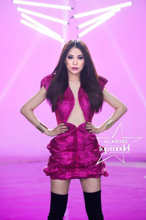 Trương Ngọc Ánh gây tranh cãi khi làm host Vietnam's Next Top Model