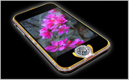 smartphone đính kim cương, Smartphone mạ vàng, Smartphone đắt đỏ nhất hành tinh